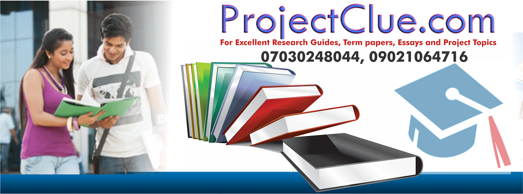 Latest Education Project Topics - Educational Services - Nigeria